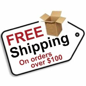 bundle your likes over $100 you get free shipping